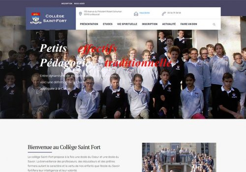College-saint-fort.com